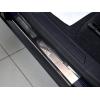 Накладки на внутренние пороги для Honda Insight 2009+ (Nata-Niko, P-HO19)