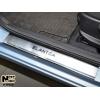 Накладки на внутренние пороги для Hyundai Elantra (MD/AD) 2012+ (Nata-Niko, P-HY17)