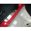 Накладки на внутренние пороги для Hyundai Getz (5D) 2002+ (Nata-Niko, P-HY06)