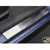 Накладки на внутренние пороги для Hyundai I30 II 2013+ (Nata-Niko, P-HY18)