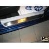 Накладки на внутренние пороги для Kia Ceed (5D) 2006-2011 (Nata-Niko, P-KI04)