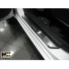 Накладки на внутренние пороги для Kia Soul 2009-2012 (Nata-Niko, P-KI14)
