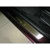 Накладки на внутренние пороги для Mazda 3 I 2003-2008 (Nata-Niko, P-MA05)