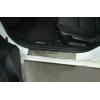 Накладки на внутренние пороги для Mazda 3 III 2013+ (Nata-Niko, P-MA13)
