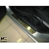 Накладки на внутренние пороги для Mazda 6 I 2003-2008 (Nata-Niko, P-MA10)