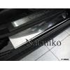 Накладки на внутренние пороги для Mercedes-Benz ML-Class (W164) 2005-2011 (Nata-Niko, P-ME05)