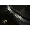 Накладки на пороги для Mitsubishi Outlander III 2013+ (Nata-Niko, P-MI14)