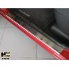 Накладки на внутренние пороги для Nissan Micra III (5D) 2003-2010 (Nata-Niko, P-NI10)