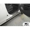 Накладки на внутренние пороги для Opel Corsa (D/E) 5D 2006+ (Nata-Niko, P-OP11)