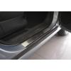 Накладки на внутренние пороги для Opel Meriva I 2002-2010 (Nata-Niko, P-OP13)