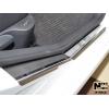 Накладки на внутренние пороги для Peugeot 308 (5D) 2007-2014 (Nata-Niko, P-PE13)