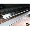 Накладки на внутренние пороги для Renault Duster 2010+ (Nata-Niko, P-RE05)