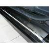 Накладки на внутренние пороги для Renault Fluence 2010+ (Nata-Niko, P-RE06)