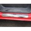 Накладки на внутренние пороги для Renault Trafic II 2001-2014 (Nata-Niko, P-RE25)