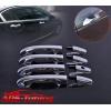 Хром накладки дверных ручек для Honda CR-V 2012+ (Kindle, CRV-D23)