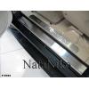 Накладки на внутренние пороги для Ssang Yong Rexton II 2006+ (Nata-Niko, P-SY03)