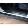 Накладки на внутренние пороги для Subaru Forester III 2008-2013 (Nata-Niko, P-SB02)