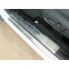 Накладки на внутренние пороги для Subaru Forester IV 2013+ (Nata-Niko, P-SB08)