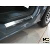 Накладки на внутренние пороги для Volkswagen Transporter/Multivan (T5/T6) 2003+ (Nata-Niko, P-VW37)