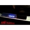 Накладки на пороги с подсветкой для Geely GX7 2012+ (Kindle, GX7-P22)