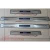 Накладки на пороги с подсветкой для Subaru XV 2012+ (Kindle, SX-P23)