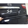 Хром накладка на нижнюю кромку ляды для BYD S6 2010+ (Kindle, S6-D36)