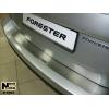 Накладка на задний бампер для Subaru Forester II 2002-2008 (NataNiko, B-SB01)