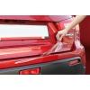 Накладка на задний бампер (защитная пленка) для BMW X1 2009- (AUTOPRO, BMWX109.RSP)