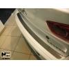Накладка на задний бампер для Mitsubishi Lancer X (4D) 2007+ (NataNiko, B-MI05)