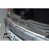 Накладка с загибом на задний бампер для Hyundai i10 2002-2014 (NataNiko, Z-HY02)