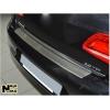 Накладка с загибом на задний бампер для Mitsubishi Outlander II 2006-2013 (NataNiko, Z-MI08)