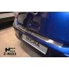 Накладка с загибом на задний бампер для Nissan Micra IV 2010+ (NataNiko, Z-NI03)