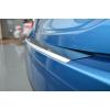 Накладка с загибом на задний бампер для Nissan Tiida (4D) 2007+ (NataNiko, Z-NI10)
