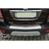 Накладка с загибом на задний бампер для Opel Mokka 2012+ (NataNiko, Z-OP17)