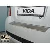 Накладка с загибом на задний бампер для ЗАЗ Vida/Point (5D) 2011+ (NataNiko, Z-ZA01)