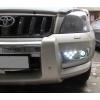 Дневные ходовые огни (DRL) с ПТФ для Toyota Land Cruiser Prado 120 2002- (S-Line, AT-KR.SL.LC120.FGDRL)