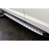 Боковые пороги (NEW Style BMW) для BYD S6 2010+ (Kindle, S6-S34)