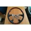 Анатомический руль (темное дерево) для Toyota Land Cruiser 100 / Prado 120 / Lexus GX 470 (S-LINE, AT-TLC100.120.STW02)