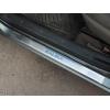 Накладки на внутренние пороги для ВАЗ Kalina 2010+ (NATA-NIKO, P-LA02)