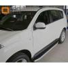 Пороги алюминиевые (Alyans) для PEUGEOT 4007 2010+ (Can-Otomotive, PE40.47.5000)