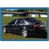 Молдинги дверных стоек (нерж.) 6 шт.  для BMW E36 1990-2000 (Omsa Prime, 1208139)