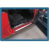 Накладки на дверные пороги (нерж.) 4 шт. для BMW E46 SD 1998-2005 (Omsa Prime, 1201091)