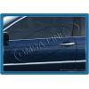 Нижние молдинги стекол (нерж.) 4 шт. для BMW E46 1998-2005 (Omsa Prime, 1201141)
