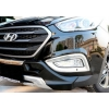 Хромированная окантовка противотуманных фар для Hyundai IX-35 2014+ (Kindle, HT-L33)