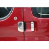 Накладки на дверные ручки (нерж., 3-шт.) для Citroen Berlingo 1996-2008 (Omsa Prime, 5705043)