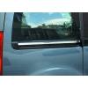 Молдинг под сдвижную дверь (нерж., 2 шт.) для Citroen Berlingo 2008-2011 (Omsa Prime, 5723132)