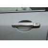 Накладки на дверные ручки (нерж., 2-шт.) для Citroen C2 (3D) HB 2003-2009 (Omsa Prime, 5703042)