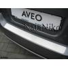 Накладка на задний бампер Chevrolet Aveo II (5D/3D) 2006+ (NATA-NIKO,B-CH02)