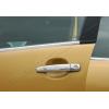 Накладки на дверные ручки (нерж., 4-шт.) для Citroen C3 (5D) HB 2002-2009 (Omsa Prime, 1502041)
