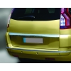 Накладка над номером на крышку багажника (нерж.) для  CITROËN C4 PICASSO 2006-2012 (Omsa Prime, 1506052)